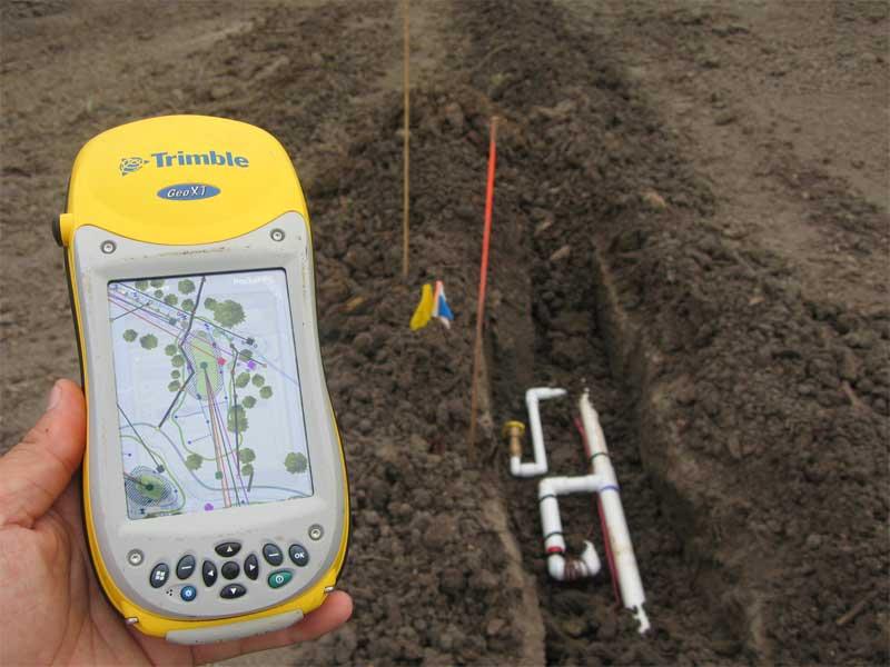 Land Survey Or Surveying Equipment Used New Construction GPS